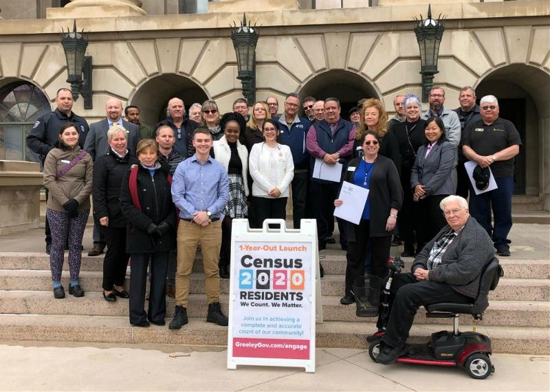 Census Kick-Off Event Group
