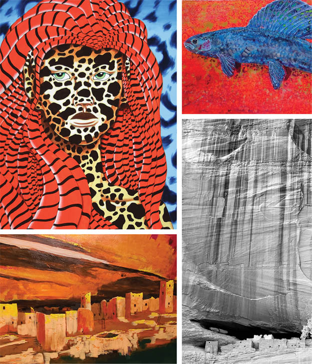 Discovery Art Exhibit Collage