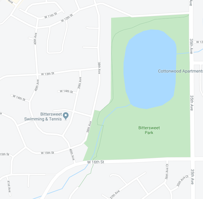 Bittersweet Park GMap