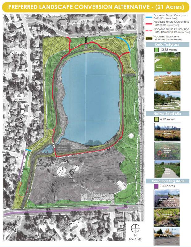 Proposed changes to Bittersweet Park